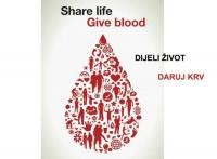 Darujte krv, spasite život - Odazovite se na akciju darivanja krvi