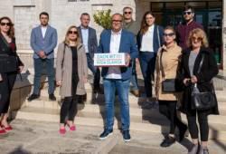 Ivica Slavica predao potpise i kandidaturu za gradonačelnika Grada Vodica