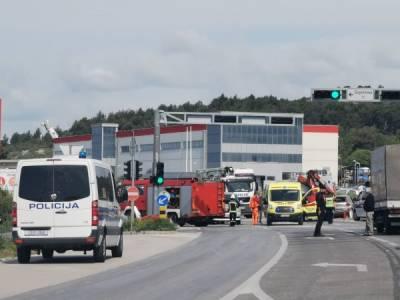 Zbog prometne nesreće na ulazu u Šibenik velika kolona
