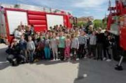 Vodički vatrogasci posjetili osnovnoškolce i naučili ih što činiti u slučaju požara