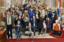 Katolički skauti župe Vodice po treći put proslavili Svjetski dan skauta.