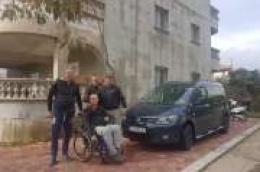Novo vozilo u obitelji Trcera - prilagođeno i registrirano za prijevoz osoba s invaliditetom koje će Alenu značajno olakšati mobilnost