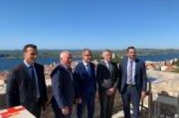 Ministar turizma Gari Cappelli posjetio Grad Šibenik