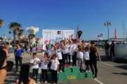 Djeca i zaposlenici Dječjeg vrtića Tamaris također sudjelovala na Lidl Vodice Runu