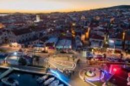 """Impresivne fotografije """"Vukovarskog vodotornja"""" i Vodica u suton, snimljeno iz zraka"""