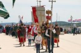 Misnim slavljem i kratkom procesijom kroz središnji gradski trg proslavljen blagdan sv. Jeline