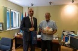 Župan dr. sc. Marko Jelić održao sastanak s gradonačelnikom Vodica