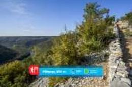 """Nacionalni park """"Krka"""" predstavlja svoje pješačke staze: Pištavac, 850 m. Uski put niz kanjon kojim tražimo mir"""