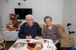 70 godina braka: Anđelija i Nikola Ivas proslavili platinasti pir