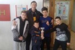 Ponovljen prošlogodišnji uspjeh šahovske ekipe OŠ Vodice na županijskom školskom natjecanju