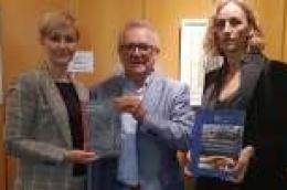 """Granice razdvajaju, kultura spaja: U Kulturnom domu Gorizia održalo predavanje pod nazivom """"Stisak ruke Leonarda da Vincija i Fausta Vrančića"""""""