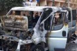 Sramotno: U Zagrebu zapaljen kombi MNK Heroji 2007, a minibus Gradskog poduzeća u zadnji tren spašen