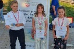 Sportska priznanja za karate klub ''Okit Vodice''