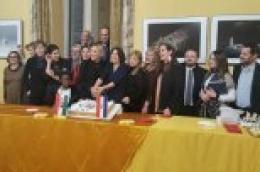 Dašak Prvić Šepurine ovjekovječen fotografijom Ane Vlahov stigao i do talijanske prijestolnice.