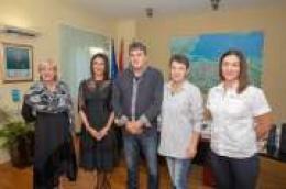 Vodička gradonačelnica dr. Nelka Tomić primila Dinka Cukrova, rekordera koji je 100 puta darovao tekućinu koja život znači