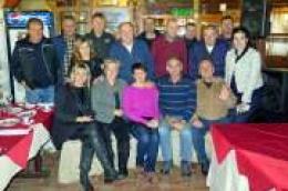 Ljubitelji broda Tijata, živućeg spomenika prošlih vremena okupili se u skradinskom restoranu Visovac na predbožićnom domjenku
