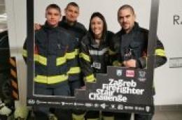 Vodički vatrogasci i vatrogaskinje sudjelovali na Zagreb Firefighter Stair Challenge-u