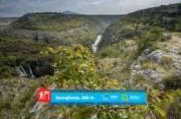 """Nacionalni park """"Krka"""" predstavlja svoje pješačke staze: Manojlovac, poviješću prožet kraj, gdje se divno ruši najviši Krkin slap"""
