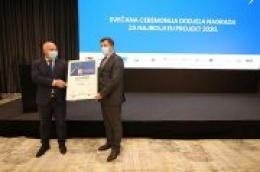 Dodijeljene nagrade Najbolji grad i EU projekt 2020.: Šibenik najbolji veliki grad u kategoriji obrazovanje i demografija