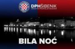 Društvo prijatelja Hajduka Šibenik poziva vas na drugu šibensku Bilu noć