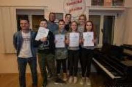 Mladi polaznici Glazbene škole Vodičke glazbe po prvi put sudjelovali na natjecanju i osvojili vrijedne nagrade