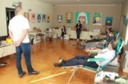 Akcija darivanja krvi - Vodičani usprkos korona krizi pokazali humanost i prikupili 37 doza krvi