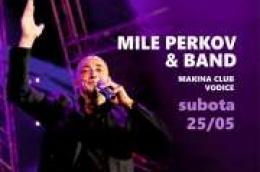 Uvijek rado viđeni gost Mile Perkov & band zabavljat će Vas ovu subotu 25.05. u konobi Makina