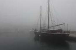 Pogledajte fotografije Prvić Šepurine zaogrnute u gustu maglu