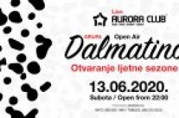 Otvorenje ljetne sezone u Aurori uz koncert grupe Dalmatino!