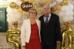 ZLATNI PIR Ante i Hilda Bilan proslavili pola stoljeća zajedničkog života