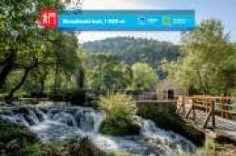 """Nacionalni park """"Krka"""" predstavlja svoje pješačke staze: Skradinski buk, 1 900 m Svakim korakom do otkrića veličanstvenih vrijednosti"""