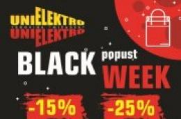 BLACK FRIDAY TJEDAN U PRODAVANINICI UNIELEKTRO – MIŠADER VODICE: Popusti i do 25% na odabrane proizvode