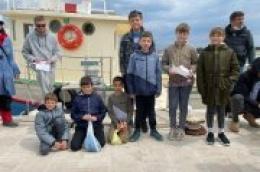 """Na kamenjima Velikog porta održano natjecanje u ribolovu """"Čap s obale 2021."""""""