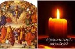 Svetkovina Svih svetih i Dušni dan – spomen svih vjernih pokojnih