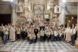 Stotinjak djece, katoličkih skauta koji djeluju u župama Vodice, Njivice i Katedrala položili prisegu
