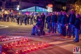Paljenjem svijeća, polaganjem vijenaca i Milenijskom fotografijom, Vodičani odali počast žrtvama Vukovara i Škabrnje