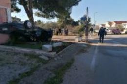 Sreća u nesreći: Troje u Mercedesu završila samo s ozljedama