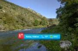 Mjesto na kojemu je prije četiri stoljeća drveni most spajao dvije moćne utvrde