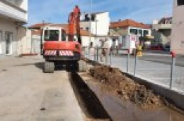 Započeli radovi na oborinskoj odvodnji u ulici DULCIN – JAKOVLJEVIĆEV VRT – PARKING.