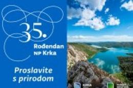 Povodom rođendana NP Krka, svim posjetiteljima i zaljubljenicima u prirodu besplatan ulaz u park