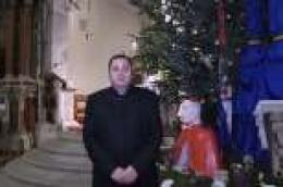 Božićno novogodišnja čestitka župnika don Franje Glasnovića