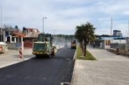 Asfaltiranjem završava sanacija ulice Artina: Od srijede moguće prometovanje vozilima u oba smjera