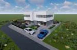 Prodaje se nova dvojna kuća s dvorištem u Vodicama