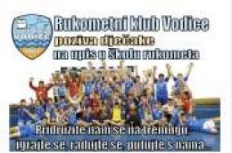 Rukometni klub Vodice poziva dječake na upis u školu rukometa