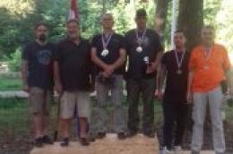 """Tako se to radi: Među 62 strijelca i 13 ekipa iz cijele Hrvatske dva člana streljačkog kluba """"Vodice"""" odnose zlato i srebro u pojedinačnoj konkurenciji"""