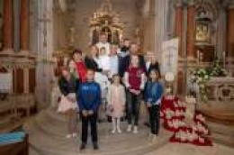Krštenje petog djeteta u obitelji Dodić