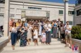Na primanju kod gradonačelnice 35 novorođenih kojima je dodijeljeno 204 tisuće kuna