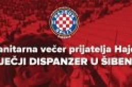 Prijatelji Hajduka za Dječji dispanzer u Šibeniku!