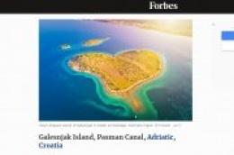 Otok Galešnjak na Forbesovoj listi najromantičnijih destinacija za Valentinovo