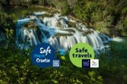 """Nacionalni park """"Krka"""" jedno je od prvih zaštićenih područja koja su dobila oznaku sigurnosti """"Safe stay in Croatia"""""""
